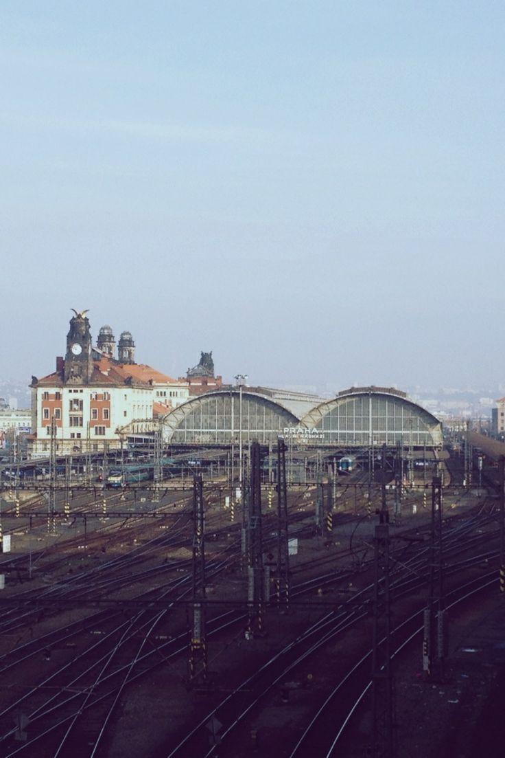 Central Train Station, Prague, Czech Republic. Nov 2013    #Prague #praha #czechrepublic #city #trainstation