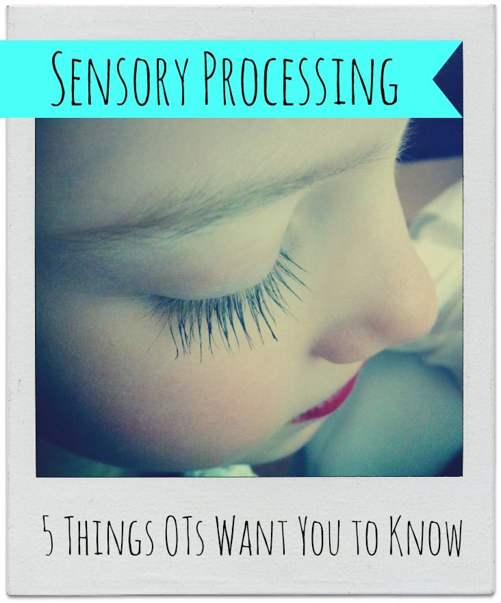 common myths regarding sensory processing and sensory activities for kids.