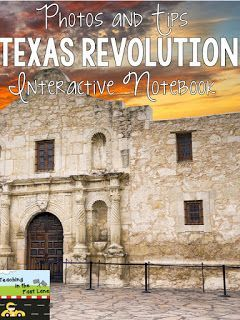 My Texas Revolution Notebook Take a look inside my notebook t see how we learn about the Texas Revolution!