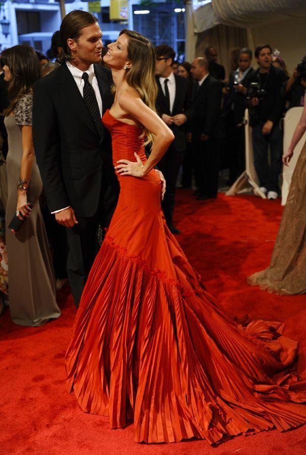 Gisele Bündchen & Tom Brady.