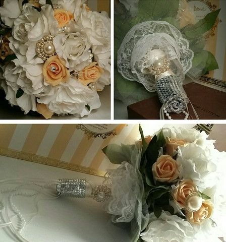 Romantic Hand Bouquet – by linda_blissparty