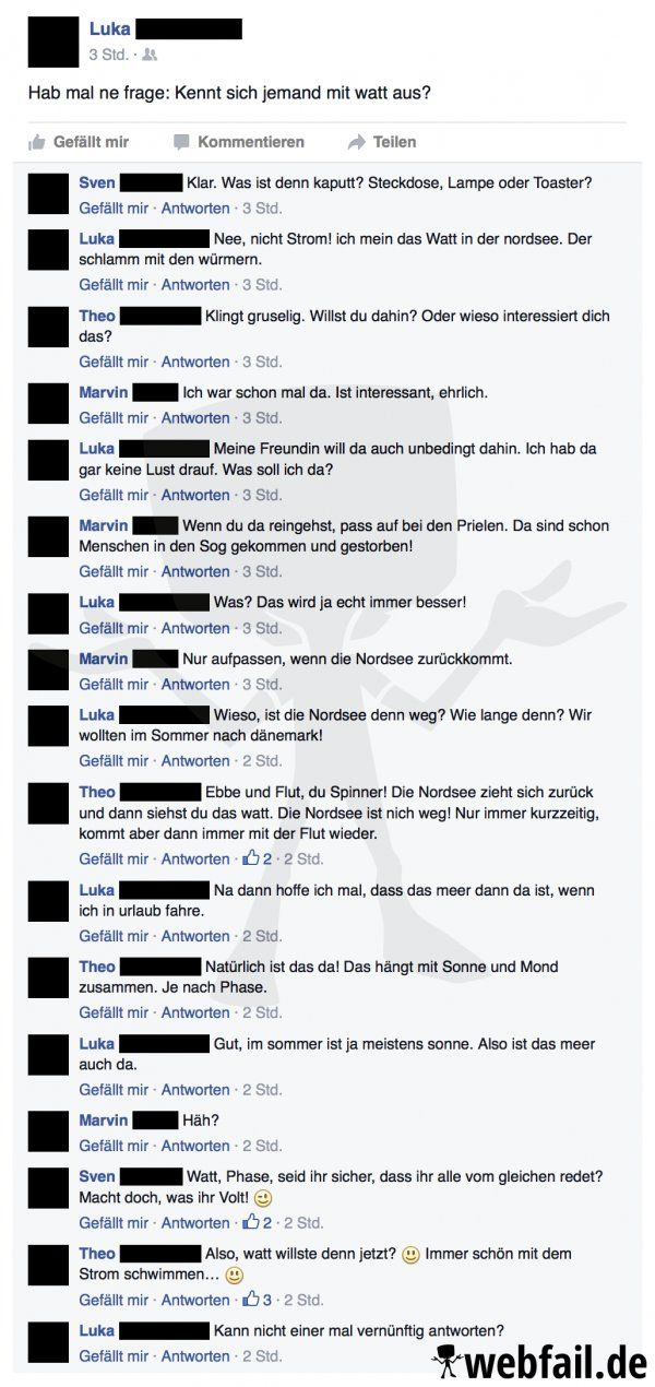 Watt will er denn jetzt? - Facebook Fail des Tages 19.05.2016   Webfail - Fail Bilder und Fail Videos