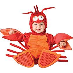 Baby Boy's Lil' Lobster Costume, Red/Orange, Photography Props