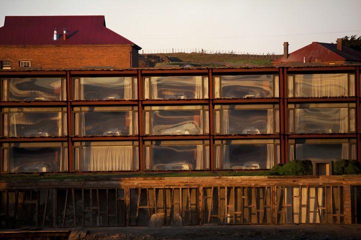 The Singular Hotel, in Puerto Bories,   Patagonia