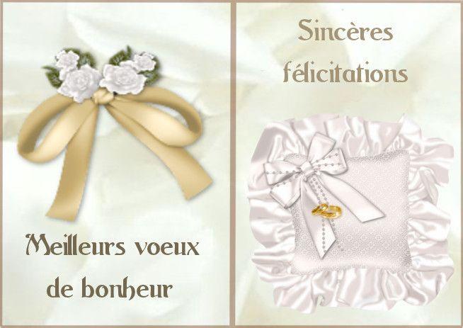 Connu 20 best Félicitations pour un mariage. images on Pinterest  CS02