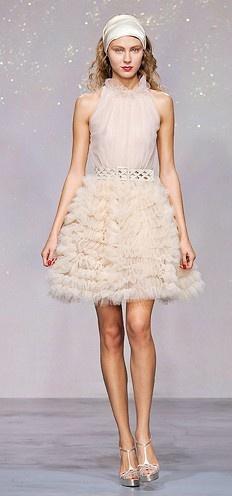 Luisa Beccaria gown via @Portobello Bride