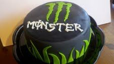 monster energy cake | Flickr - Photo Sharing!