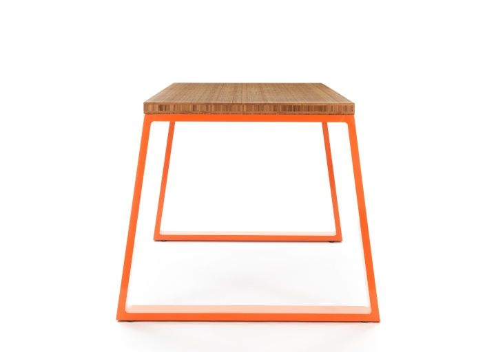 M Bamboo Table And M Bench By Jennifer Newman Studio Furniture 2