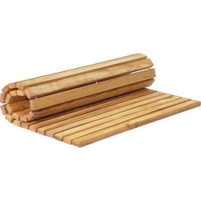 40 sonoteak premium teak string bath mat u0026 reviews wayfair - Teak Bath Mat