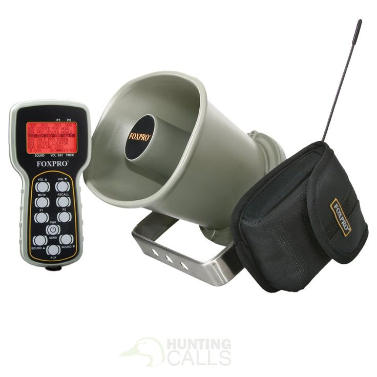 FOXPRO Hellfire Portable Game Call - http://huntingcalls.co/product/foxpro-hellfire-portable-game-call/
