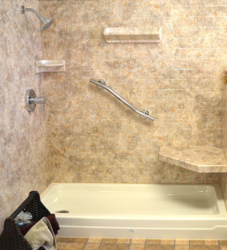 Bathroom Tub Surround Tile Ideas: 1000+ Ideas About Acrylic Shower Walls On Pinterest