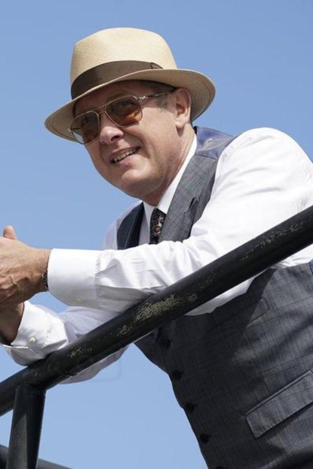 Raymond Reddington wearing  Oliver Peoples Victory  Sunglasses, Stetson The Broadway by Biltmore