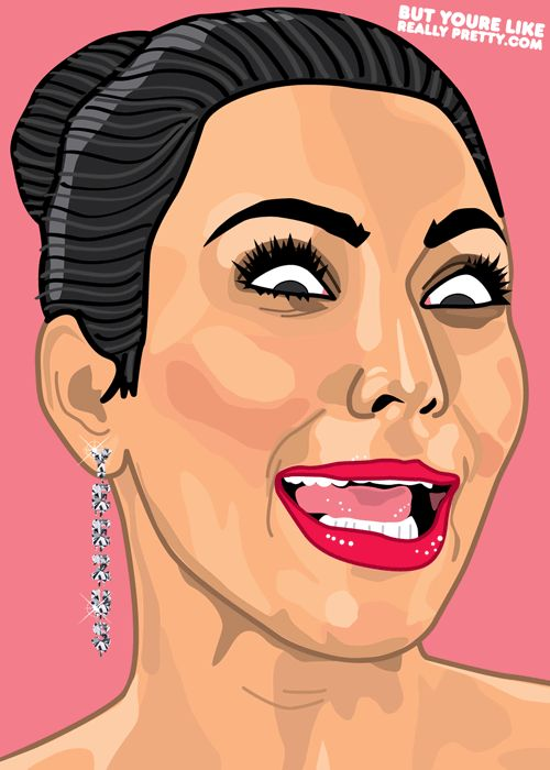 [GIF] But You're Like Really Obsessed @Kim Kardashian.