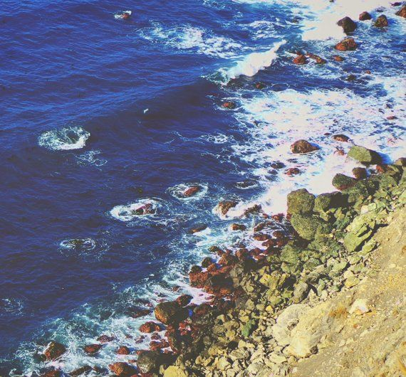 Ocean Photography Print Minimal Coastal Sea Landscape Etsy Ocean Photography California Landscape Photography Prints Art