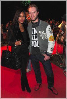 Rapper/actress Eve and her husband Maximilian Cooper. | Heart's ...