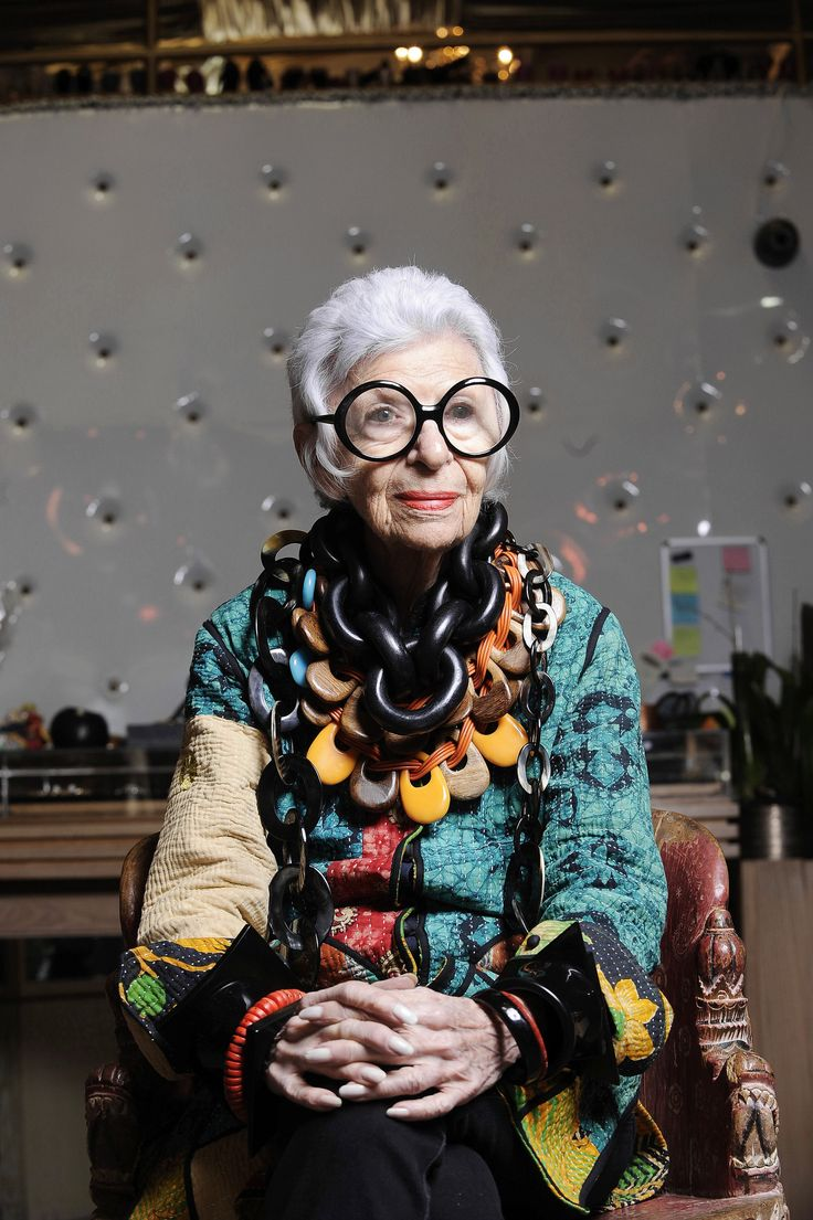 Iris Apfel...the one and only iconic style legend
