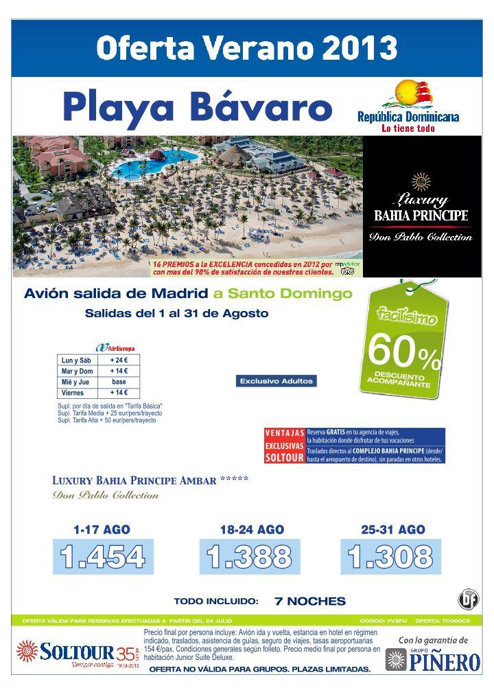 60% Grand Bahia Principe Esmeralda y Ambar (Vuelos Santo Domingo) salidas desde Madrid - http://zocotours.com/60-grand-bahia-principe-esmeralda-y-ambar-vuelos-santo-domingo-salidas-desde-madrid/