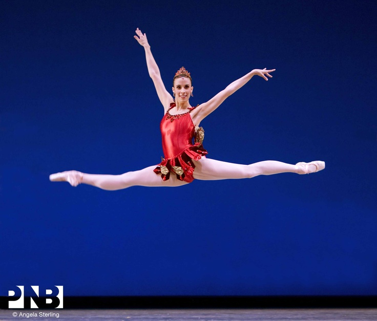 PNB Soloist Lindsi Dec in George Balanchine's Rubies.