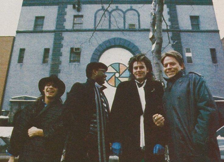 Power Station   (Robert Palmer, John Taylor,  Tony Thompson & Andy Taylor)