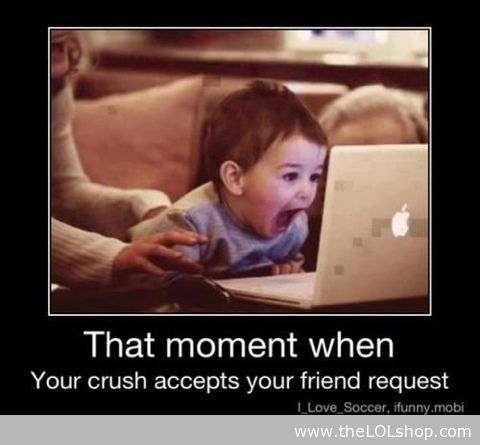 That Moment When Your CrushBows Holders, Friends, Laugh, Funny Pictures, The Face, Hockey Players, Funny Baby Pictures, Donnie Wahlberg, True Stories