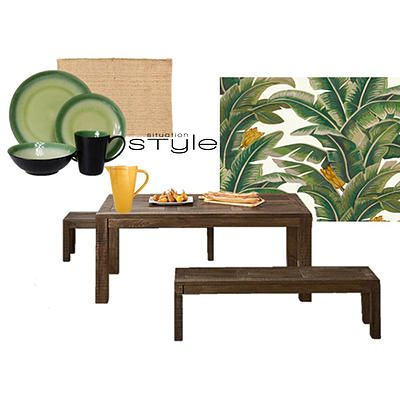 """""""BahamaRama"""" Go to www.situationstyle.com.au for product details and suppliers"""