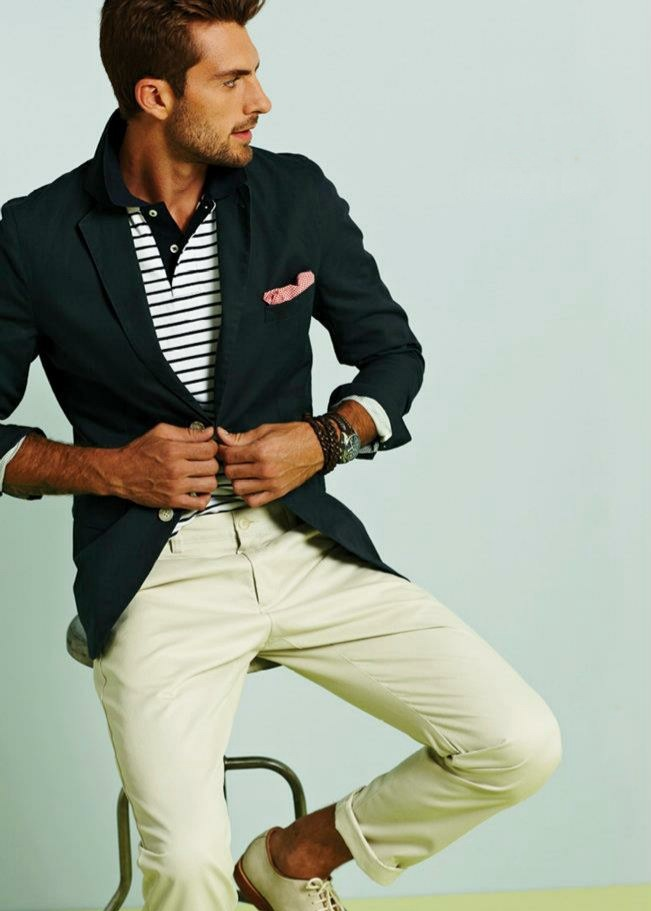 .: Nautical Style, Fashion Men, Men Clothing, Menfashion, Summer Looks, Men Style, Men Fashion, Blazers, Offices Outfits