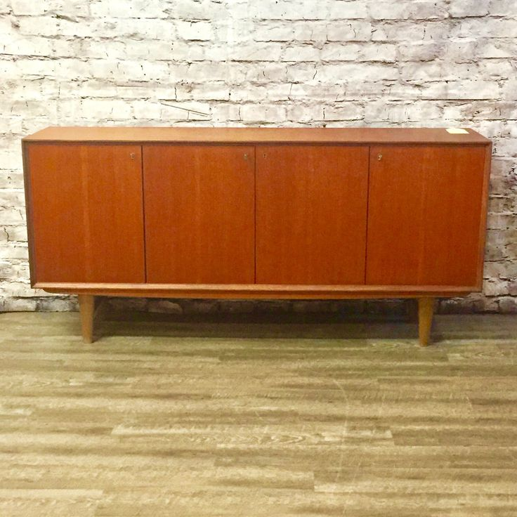 Designers (and those who love great design:)   More awesomeness Early Danish Mid-....   You can check it out here: http://vintagehomeboutique.ca/products/early-danish-mid-century-teak-tall-sideboard?utm_campaign=social_autopilot&utm_source=pin&utm_medium=pin