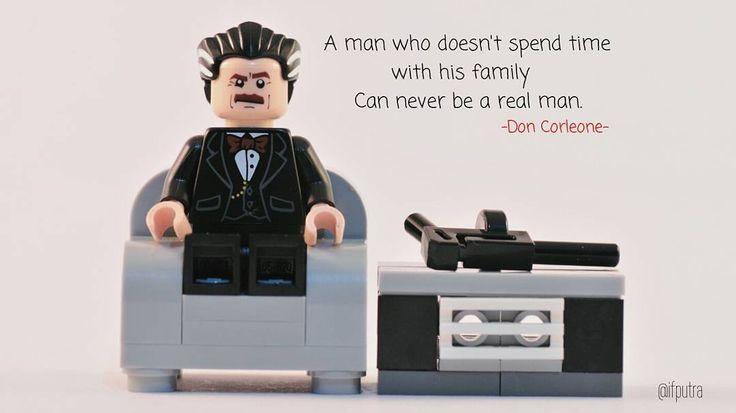 Lego MOC Minifigure Don Corleone