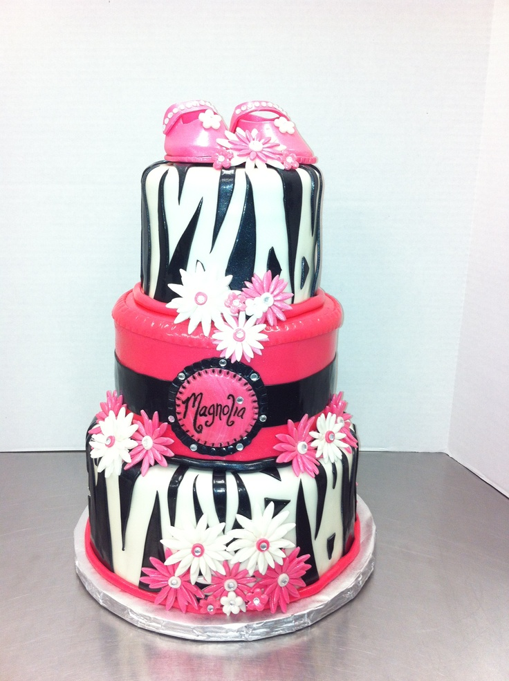 zebra baby showers pink zebra celebration cakes baby shower cakes cake
