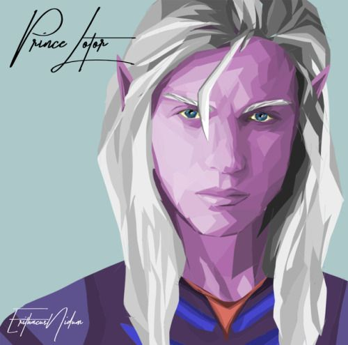 Prince Lotor more of my Voltron art //Please do not remove credit or repost