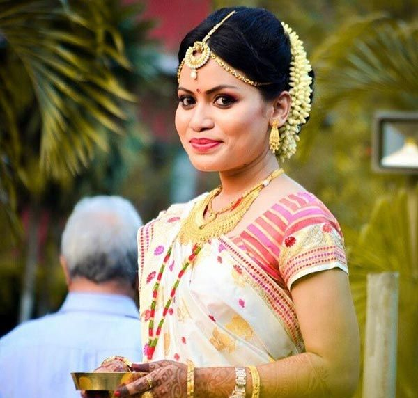 Indian Bridal Looks - The Assamese Bridal Look
