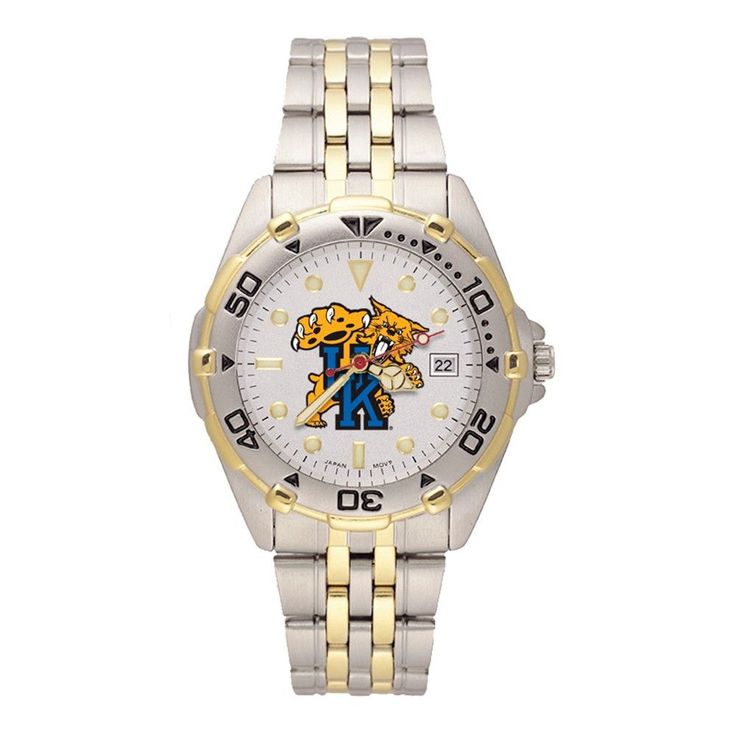 UNIV OF KENTUCKY WILDCAT MAN'S ALL-STAR BRACELET WATCH