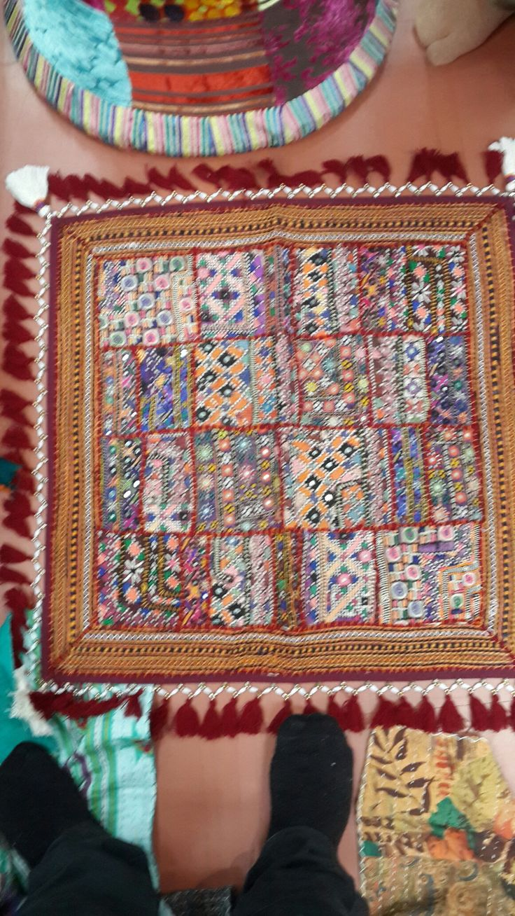 Cushion covers hand made only order make rs3500
