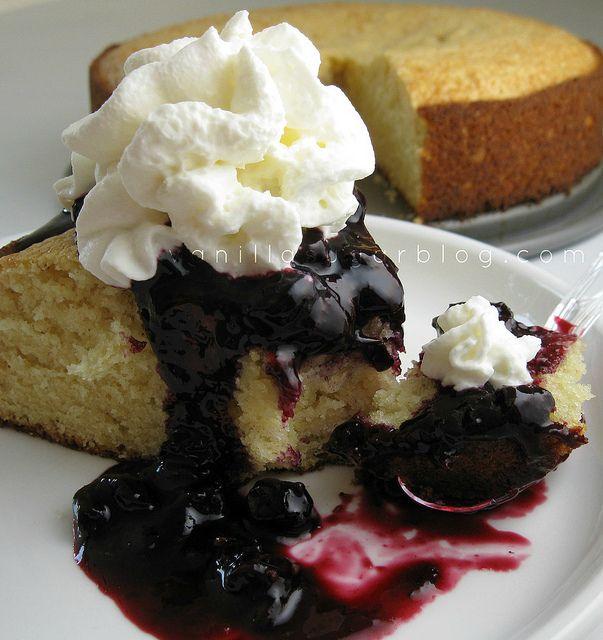 blueberry shortcake by Vanilla Sugar Blog, | Favorite recipes ...
