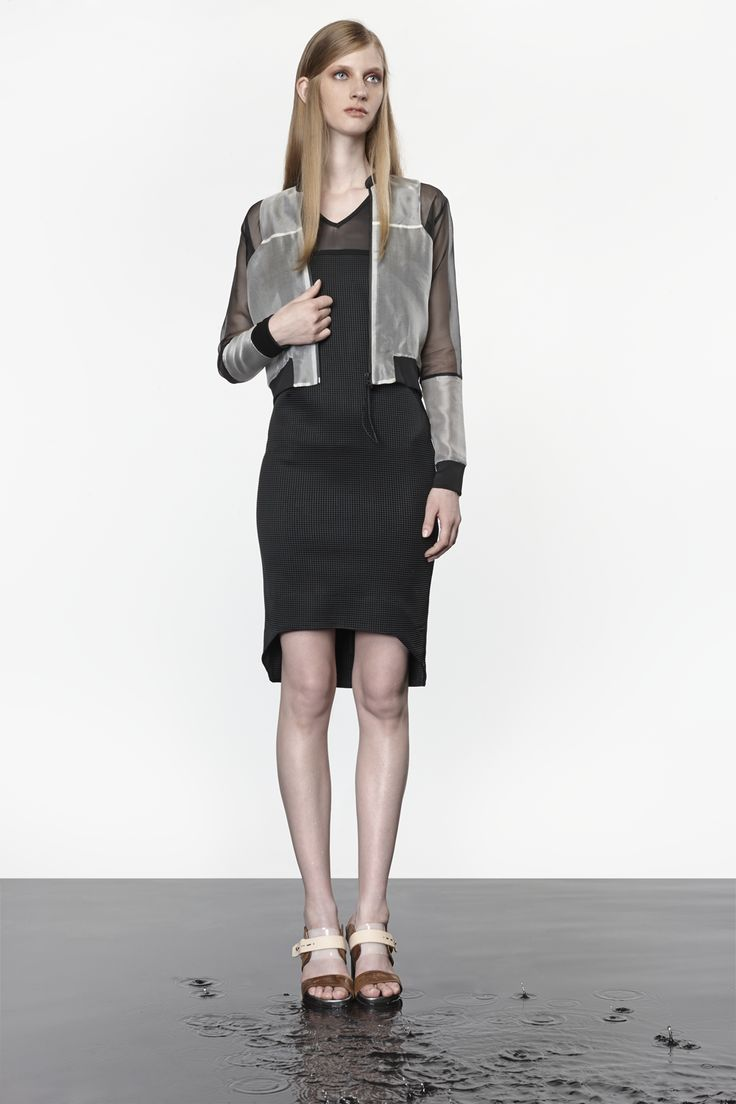 NUBU FORDO jacket / NUBU CINDUS dress