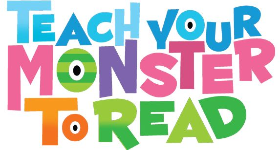 Teach your monster to read - free award winning game sponsored by Usborne Charity Foundation