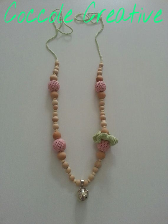 Pregnancy necklace  La collana dell'attesa di CoccoleCreative