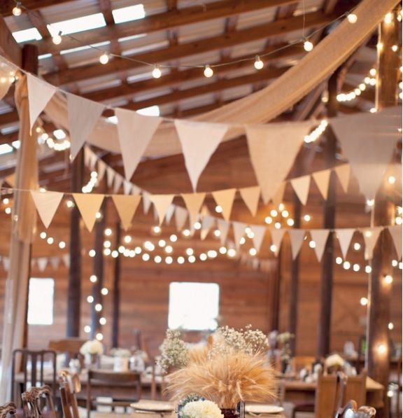 3M Wedding Party Supplies Vintage Banner Home Decoration Hessian Fabric Bunting Burlap Cord Jute Rope Photobooth Lace Flag