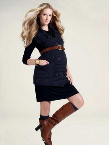 Winter Maternity Clothing. i have the elements- i think i'll try it.