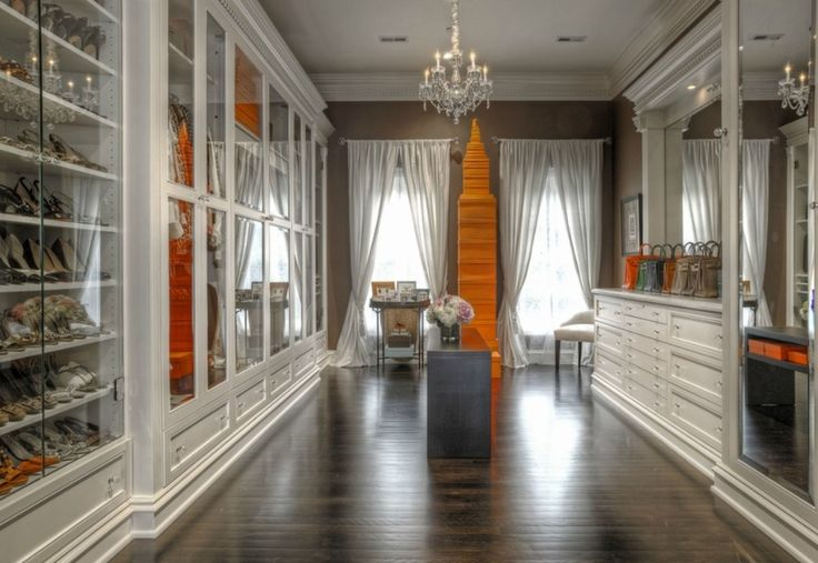 The stack of Hermes boxes says it all. 16 Real-Life Dream Closets From Around The Country