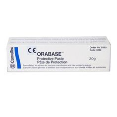 Orabase Protective Paste for Sore Mouth and Ulcers - 30g | Live Better With
