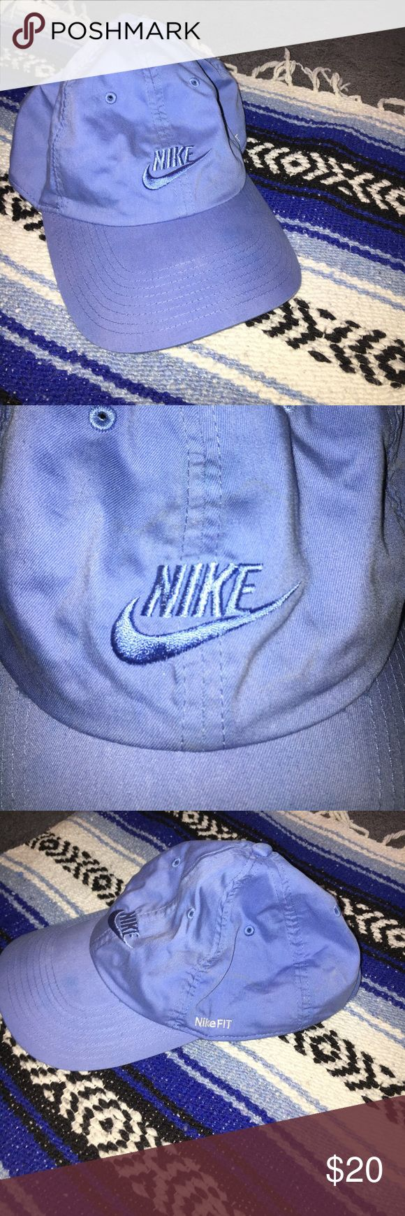 Blue Nike Dad Hat Light blue, breathable, on-trend Nike Dad Hat. Nike Accessories Hats