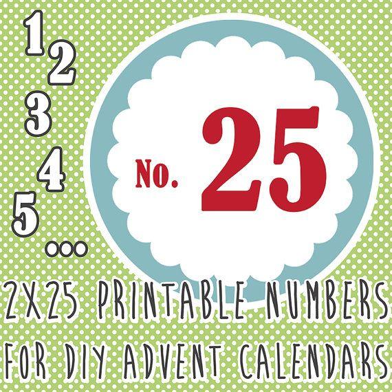 Holiday Countdown Calendar Printable | Calendar Template 2016