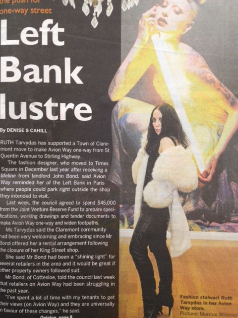 Ruth Tarvydas on the cover of Western Suburbs Weekly