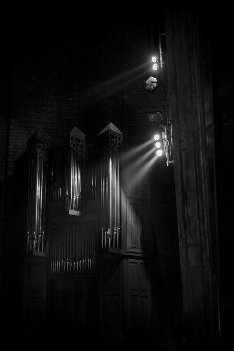 Oświetlone dźwięki. Organy w prezbiterium kościoła św. Dominika w Warszawie, fot. Sławomir Skrzeczyński #dominikanie #konkurs #4poryroku
