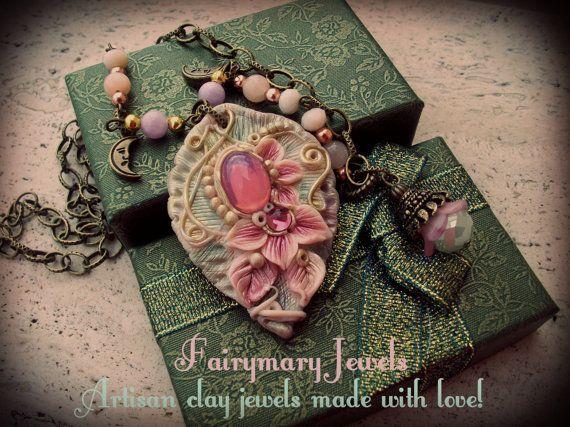 Il giardino delle Fate di FairymaryJewels su Etsy