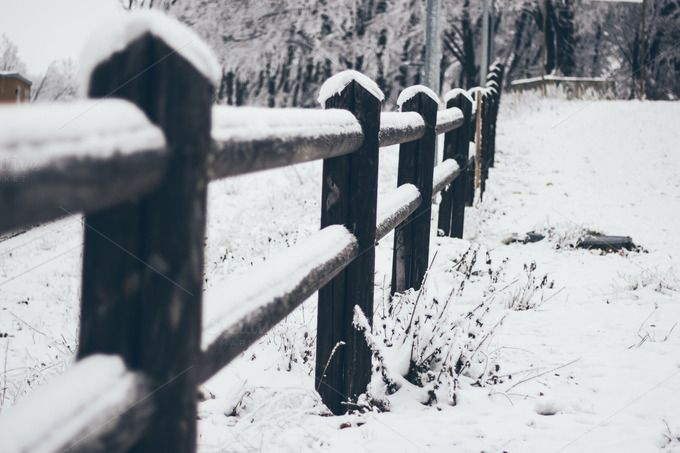 Check out Winter landscape by Pixelglow Images on Creative Market