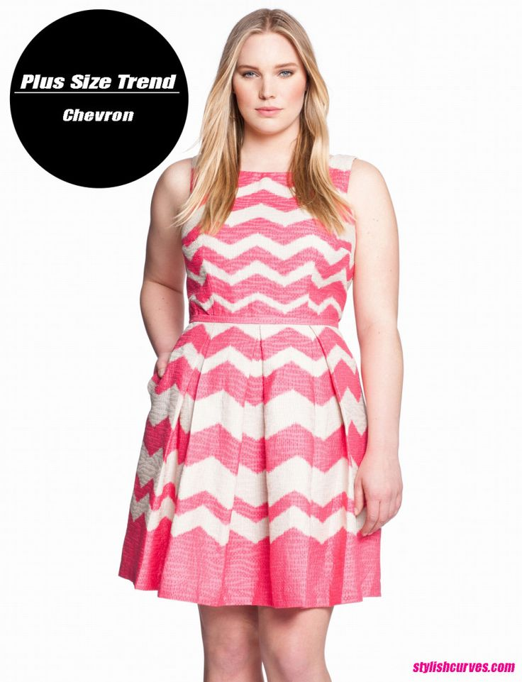 PLUS SIZE TREND TO TRY: CHEVRON