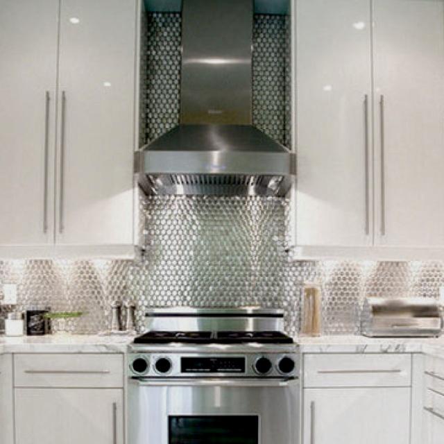 26 Best Images About Metal Backsplash On Pinterest Kitchen Backsplash Stove And Backsplash Tile