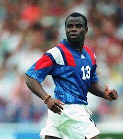 Basile Boli of France in 1992.